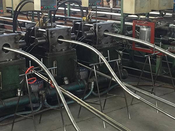 波纹管生产机器